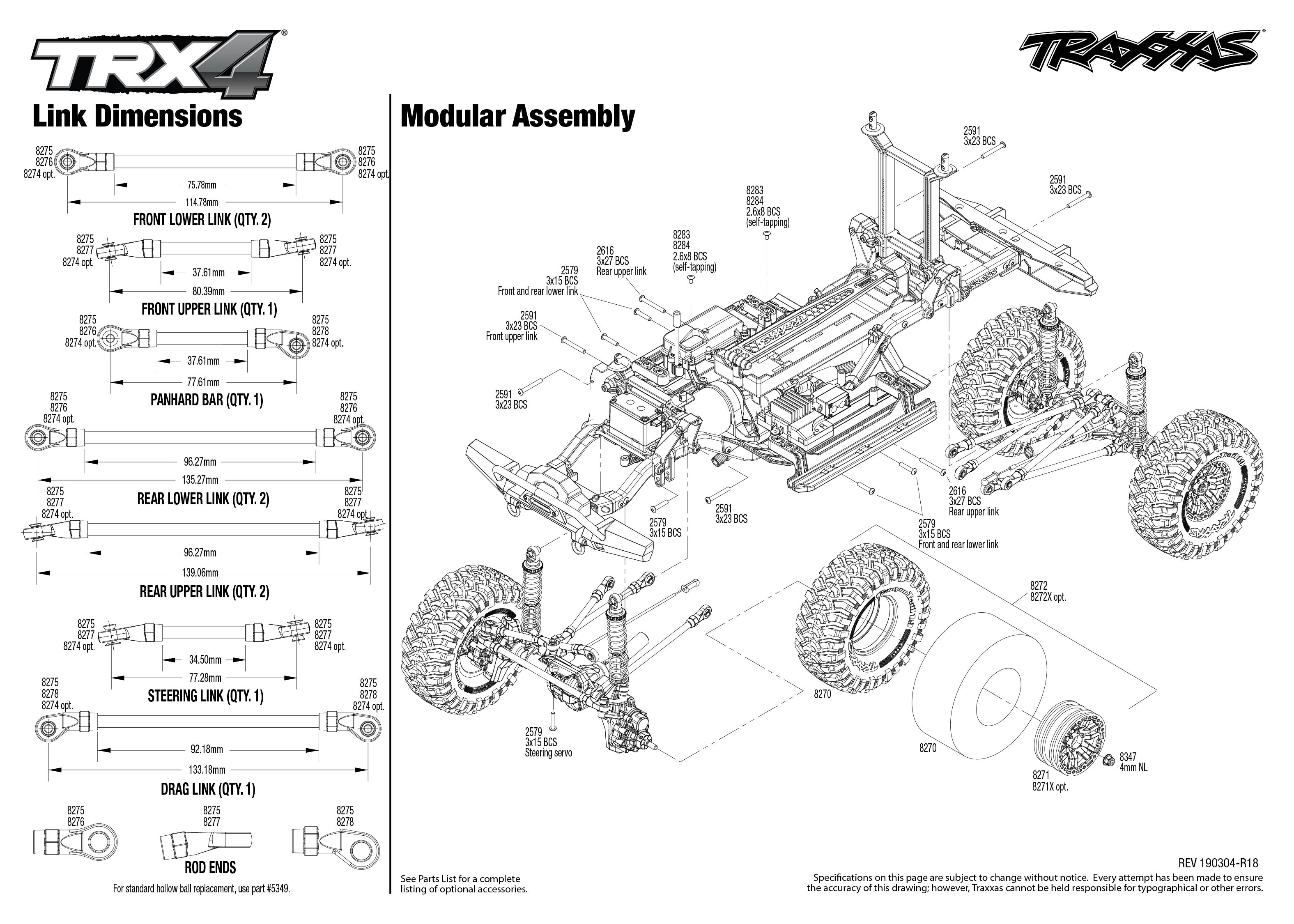 Trx 4 Scale And Trail Crawler 4 Modular Assembly