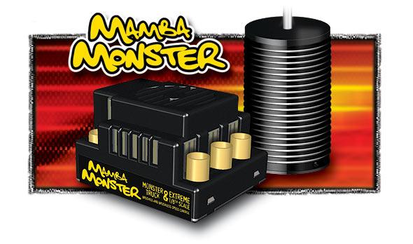 Castle Creations Mamba Monster Brushless System E-Revo