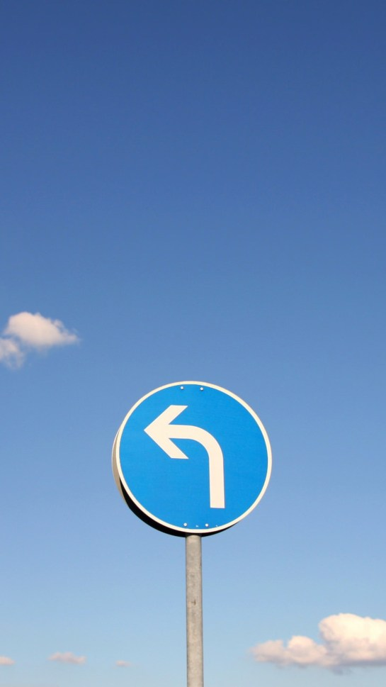 Traffic Sign Blue Minimal Realme Wallpapers Free