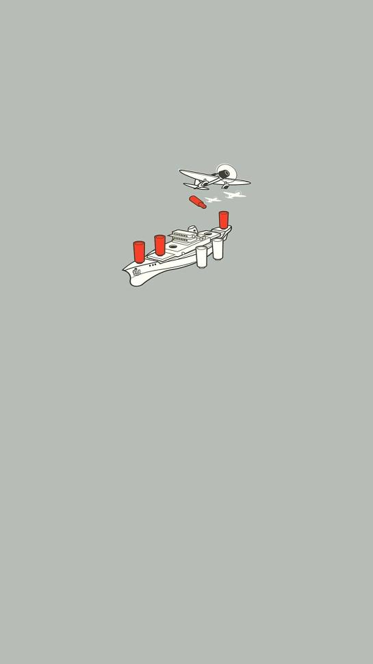 Aircraft Carrier Minimal Android HD Resolution Wallpapers Download