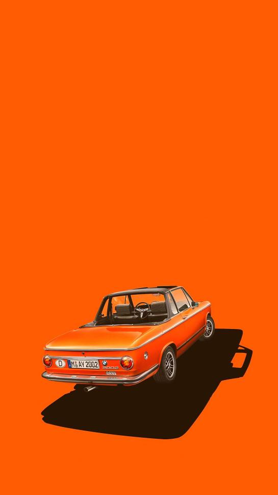 Classic Car iPhone 12 Minimal Ultra HD 4K Wallpapers Download