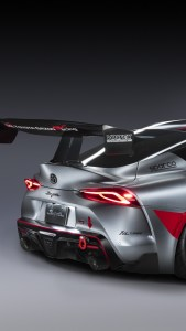 Toyota GR Supra Track Concept 4K iPhone Wallpapers