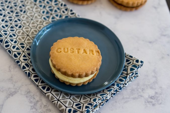 Homemade Custard Creams