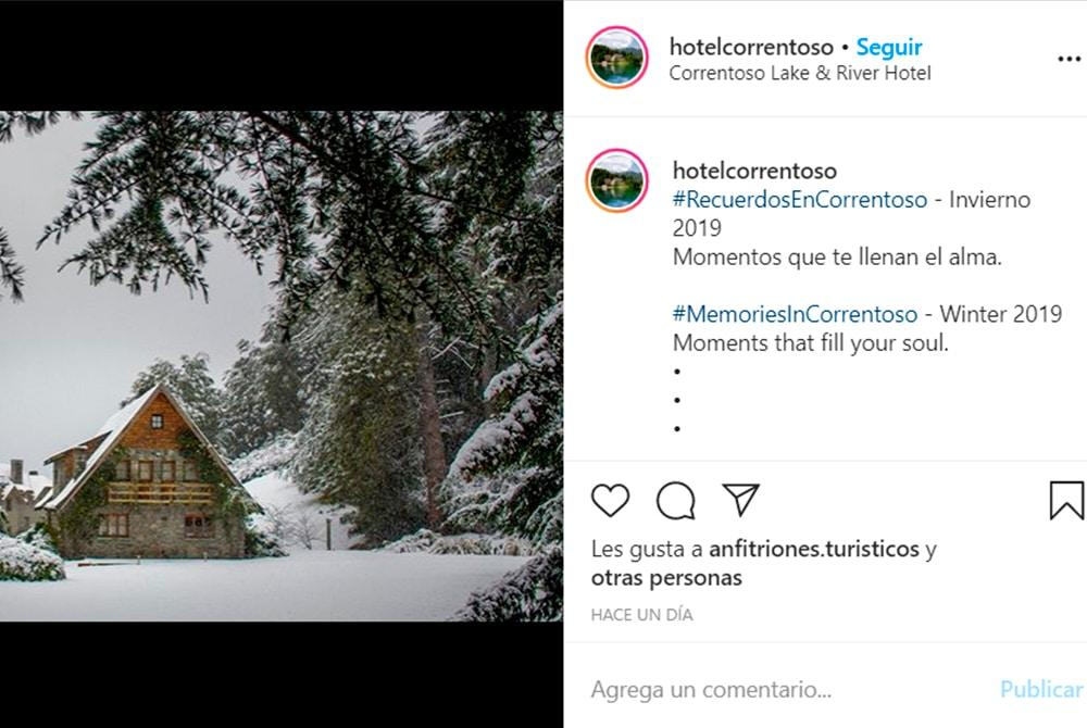 Instagram Hotel Correntoso