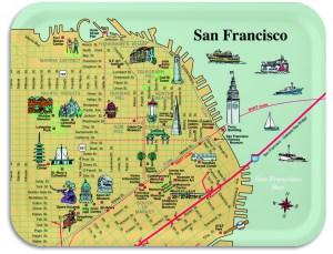 San Francisco Breakfast Tray