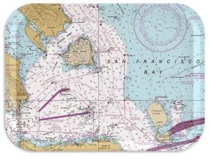 San Francisco Nautical Breakfast Tray 11x8