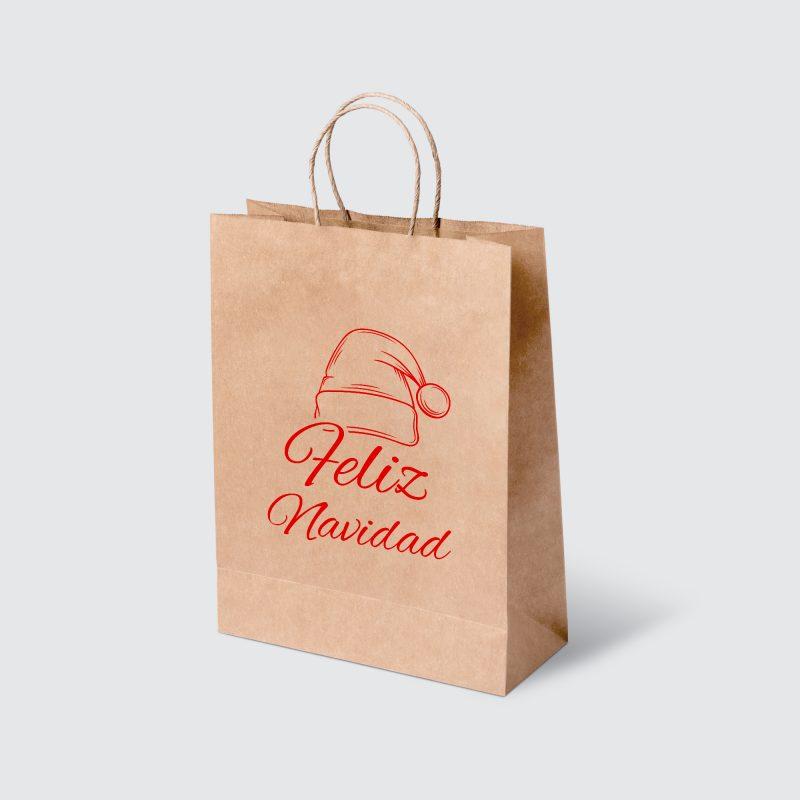 Bolsa de papel con manigueta MOCKUP FN