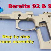 Beretta 92 Frame Reassembly