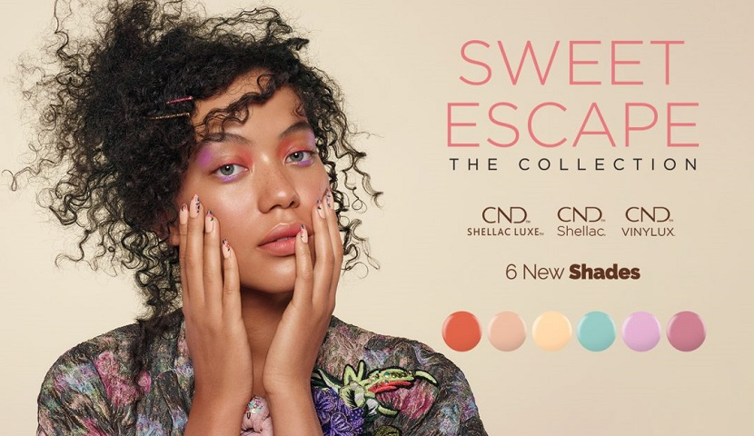 Sweet Escape уже в True Beauty Studio - cладкий побег c CND
