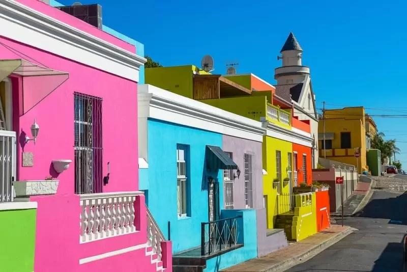 Zwiedzanie Ba-Kaap podczas wyjazdu incentive.
