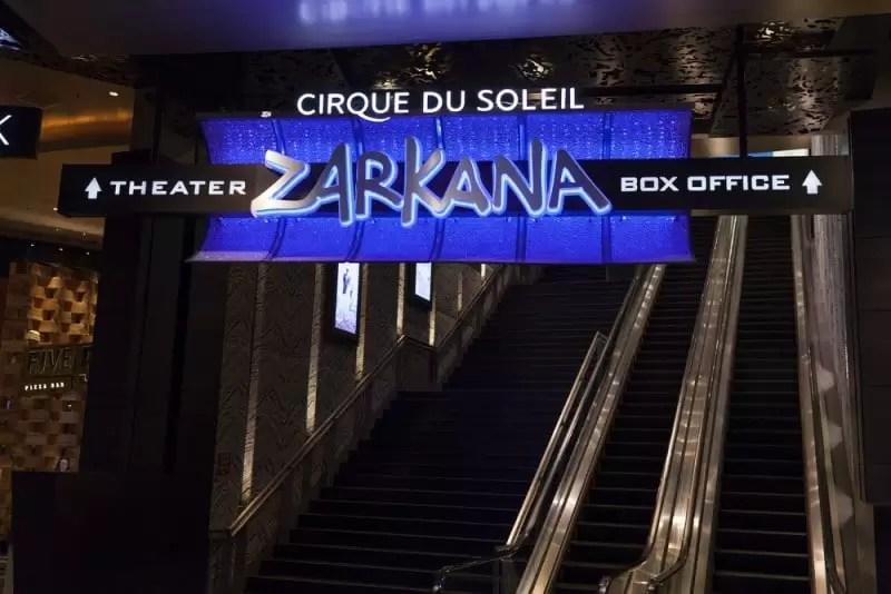 Słynne przedstawienie w Las Vegas w trakcie wyjazdu incentive.