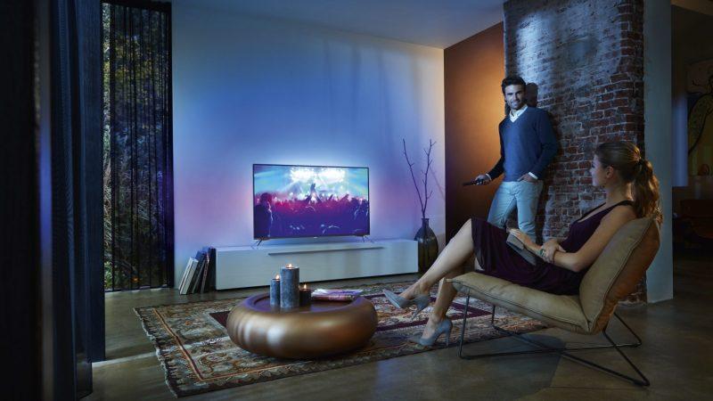 Edle Fernseher setzen auf Effekte und Lichtwirkung