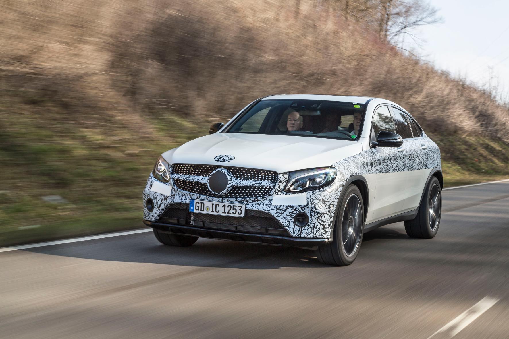 Mercedes GLC Coupé: Mehr als eine SUV-Variante im Sport-Dress.