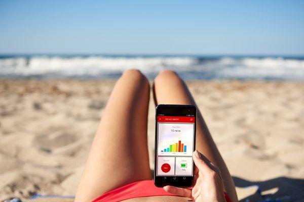 Im Smart-Sommer warnt der Bikini die Trägerin vor Sonnenbrand