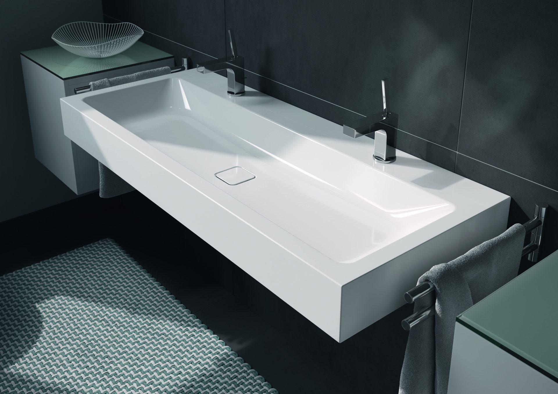 Exklusiver Waschplatz mit garantiert langer Lebensdauer