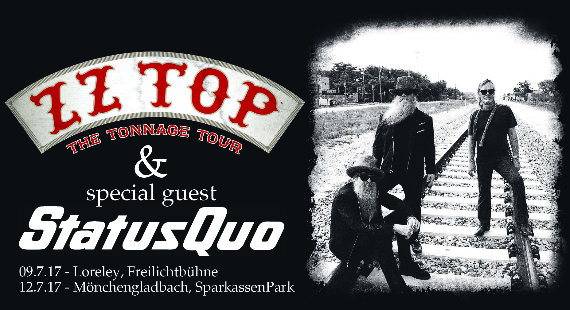 ZZ TOP from Texas tourten durch Deutschland