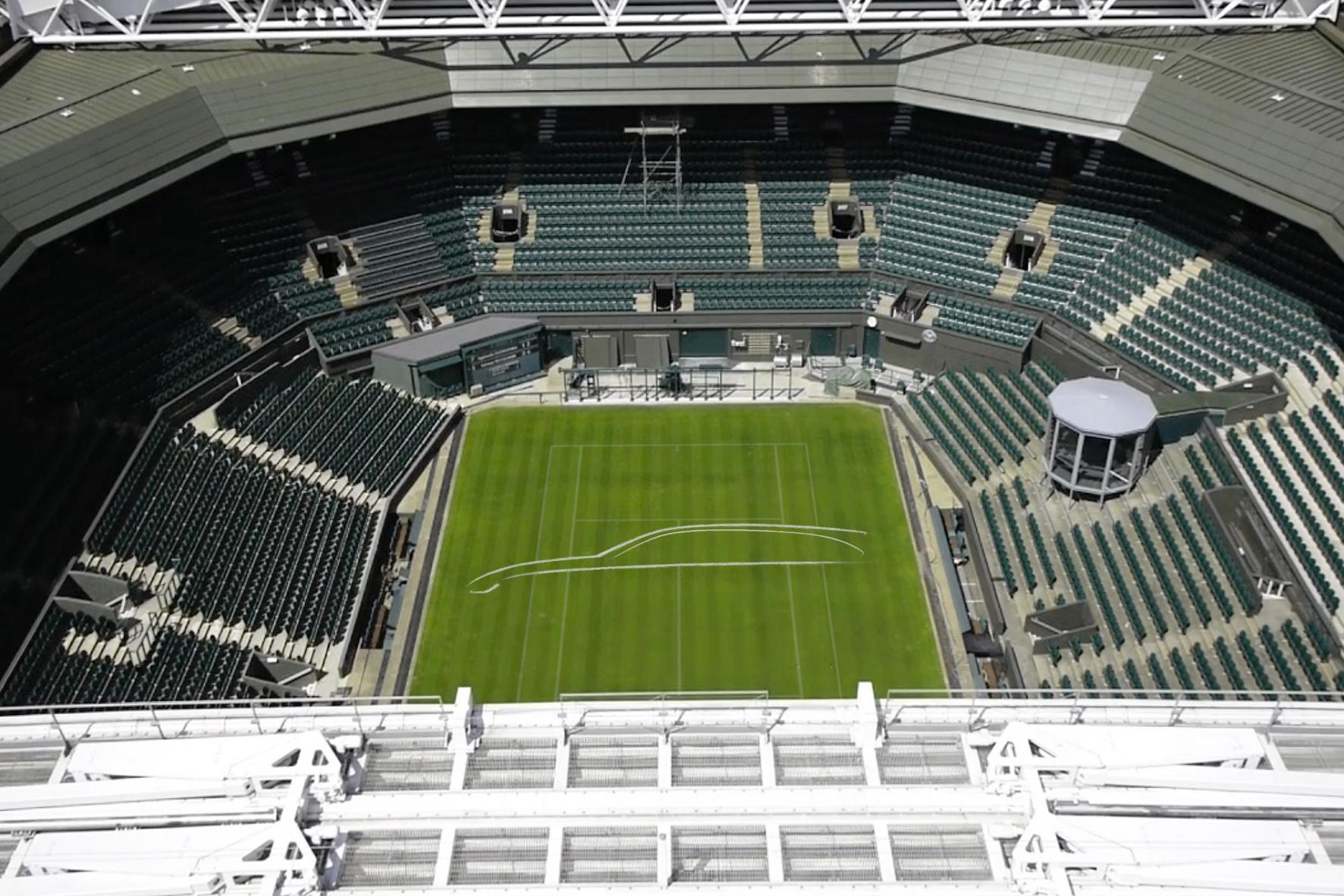 Englische Automarke schlägt in Wimbledon auf