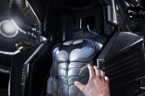 Mit der Datenbrille unterwegs in Gotham City