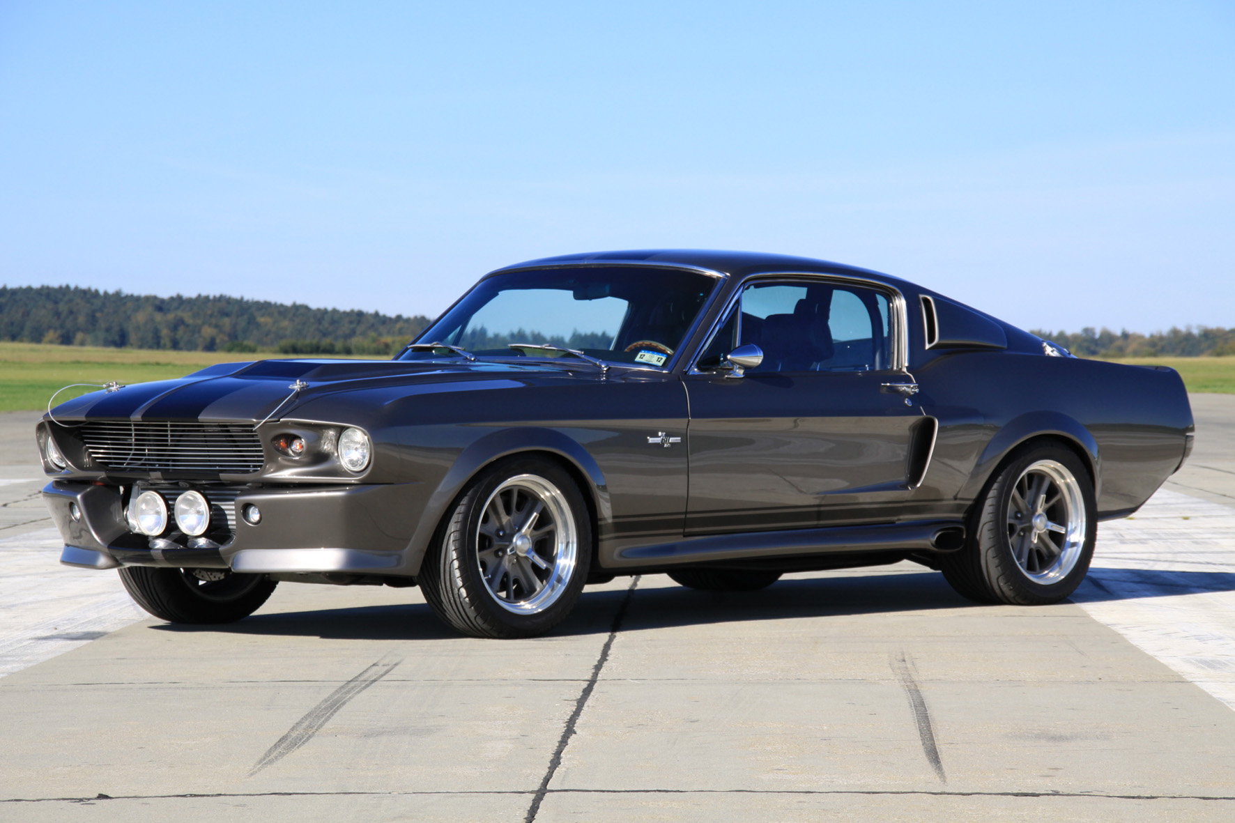 Mustang Coupé im Oldtimer-Ranking am gefragtesten
