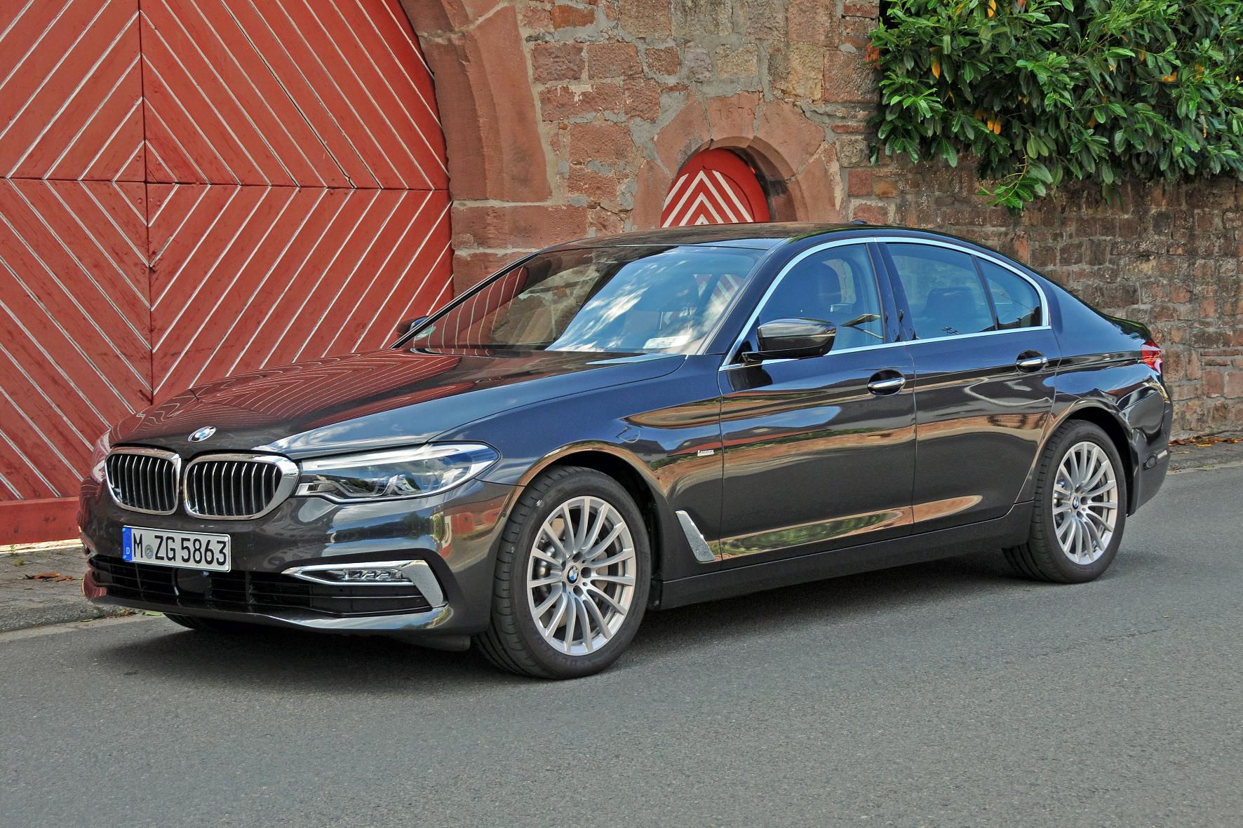 Generationswechsel: Im komfortablen 5er BMW schlägt ein sportliches Herz