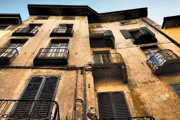 Fassade bröckelt