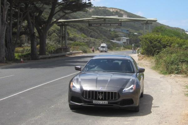 Maserati in Australien W. Bernhard
