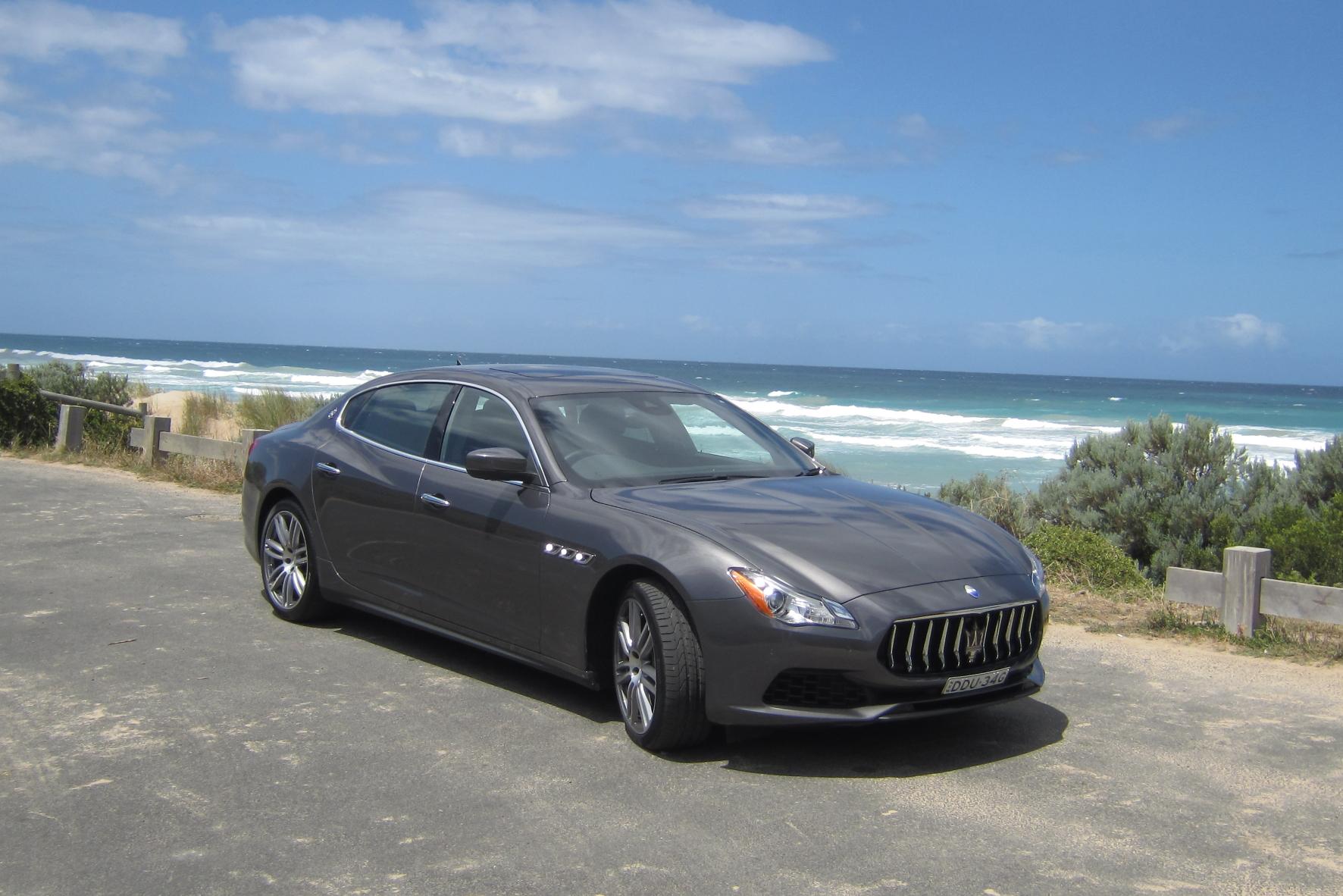 Im Maserati durch Australien unterwegs
