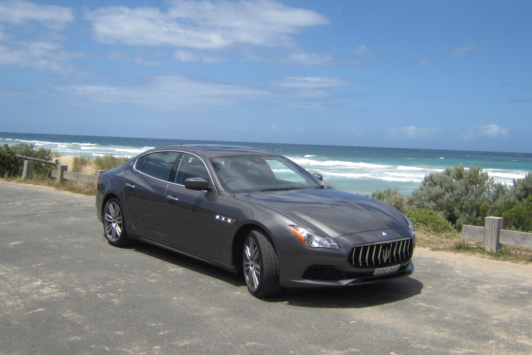 Im Maserati durchs Outback