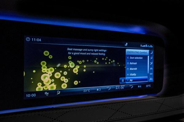 Energizing Comfort heißt das individuell wählbare Wellness-Programm der neuen S-Klasse. © Daimler / TRD Auto