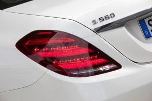 Der S 560 wird von einem famosen V8-Aggregat in Schwung gebracht. © Daimler