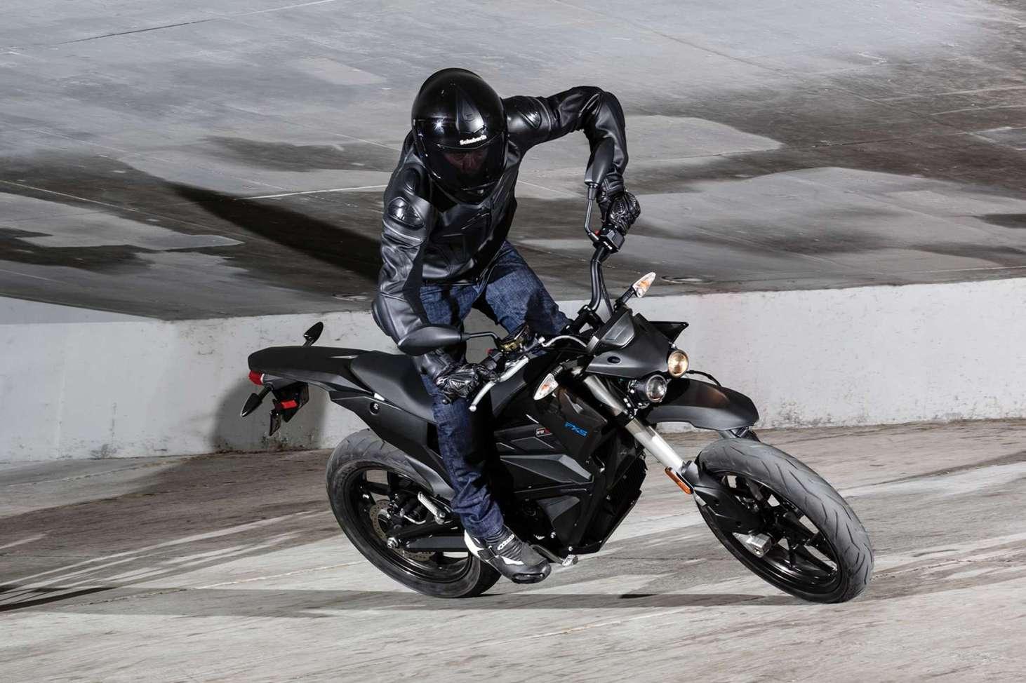 Elektro-Motorräder wie die Zero FXS spielen auf dem Zweirad-Markt aktuell noch eine Nebenrolle. © Zero/ TRD Zweirad (trd mobil) </strong>