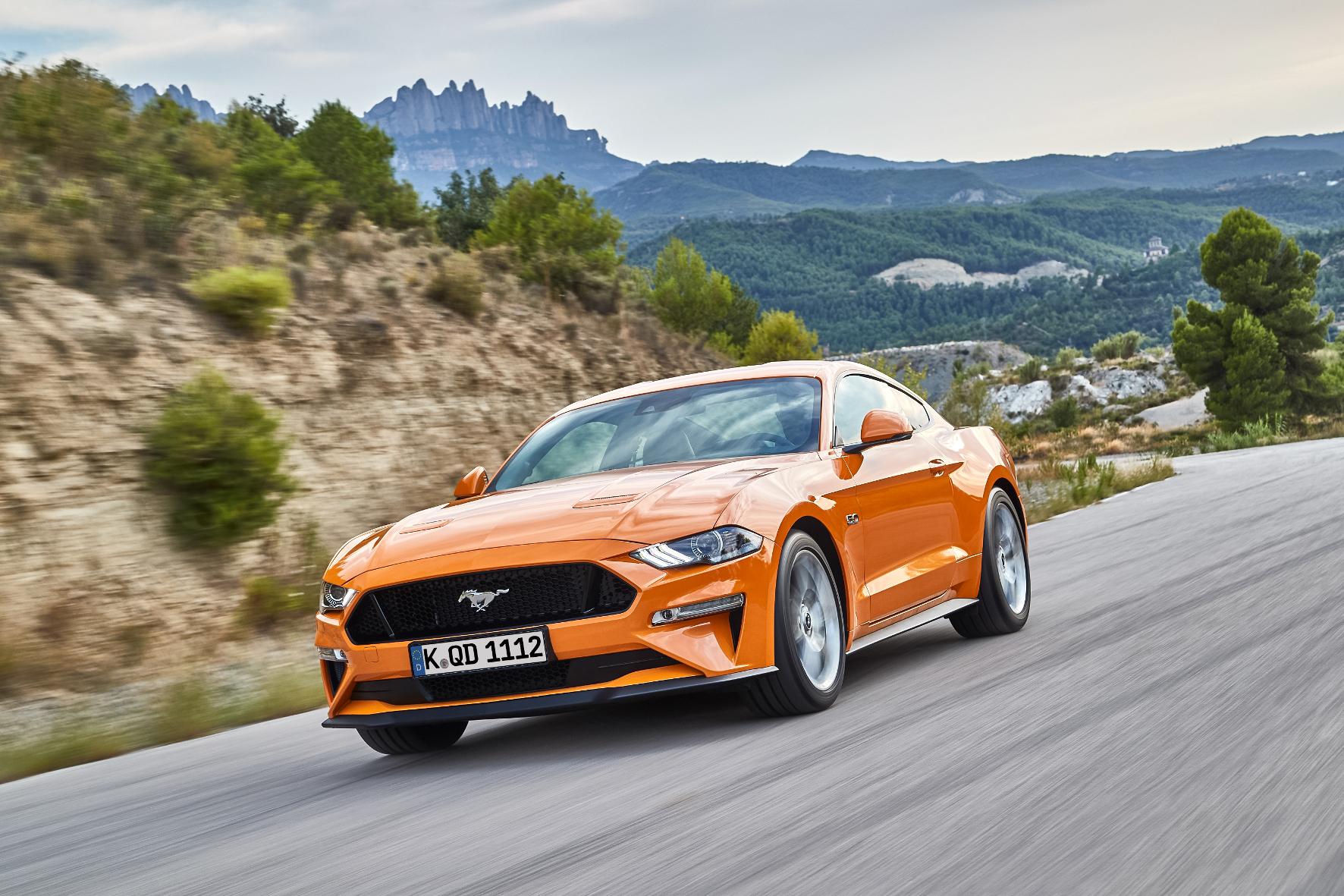 Neuer Mustang beherrscht auch leise Töne