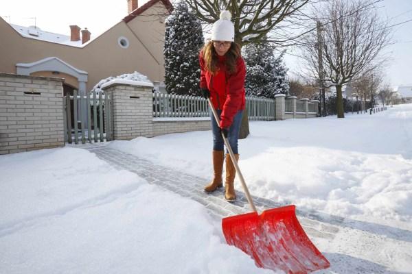 Ein (Alb-)Traum in Wei§: Wer muss den Schnee schippen?