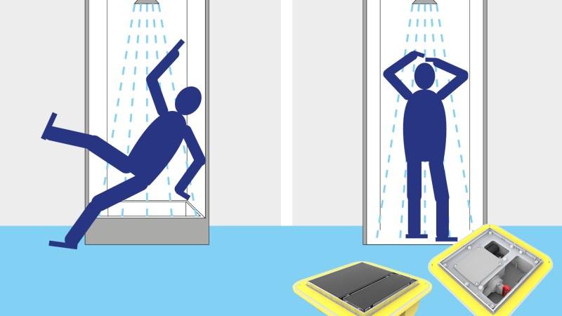 Stolperfalle Dusche im TRD Pressedienst