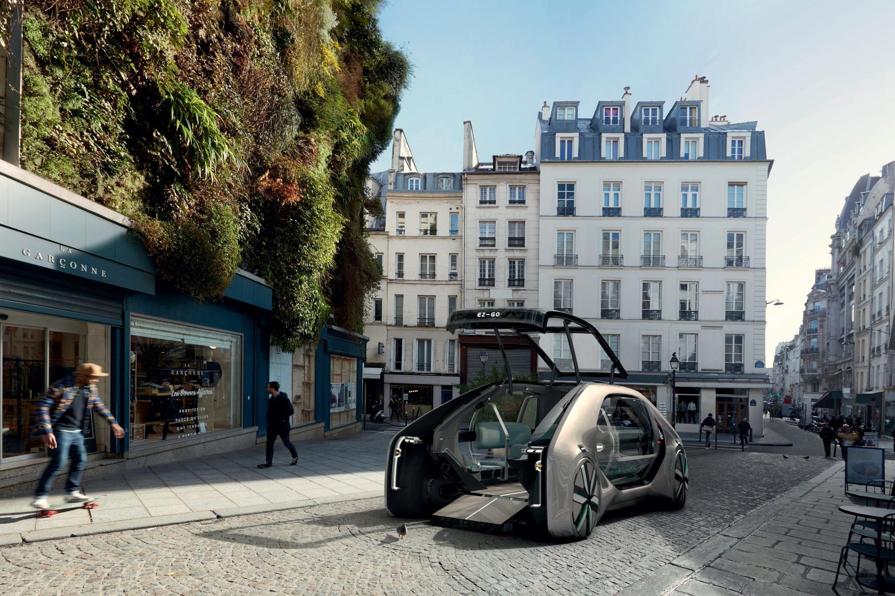 Hallo Taxi: Mit Tempo 50 in die Zukunft surren