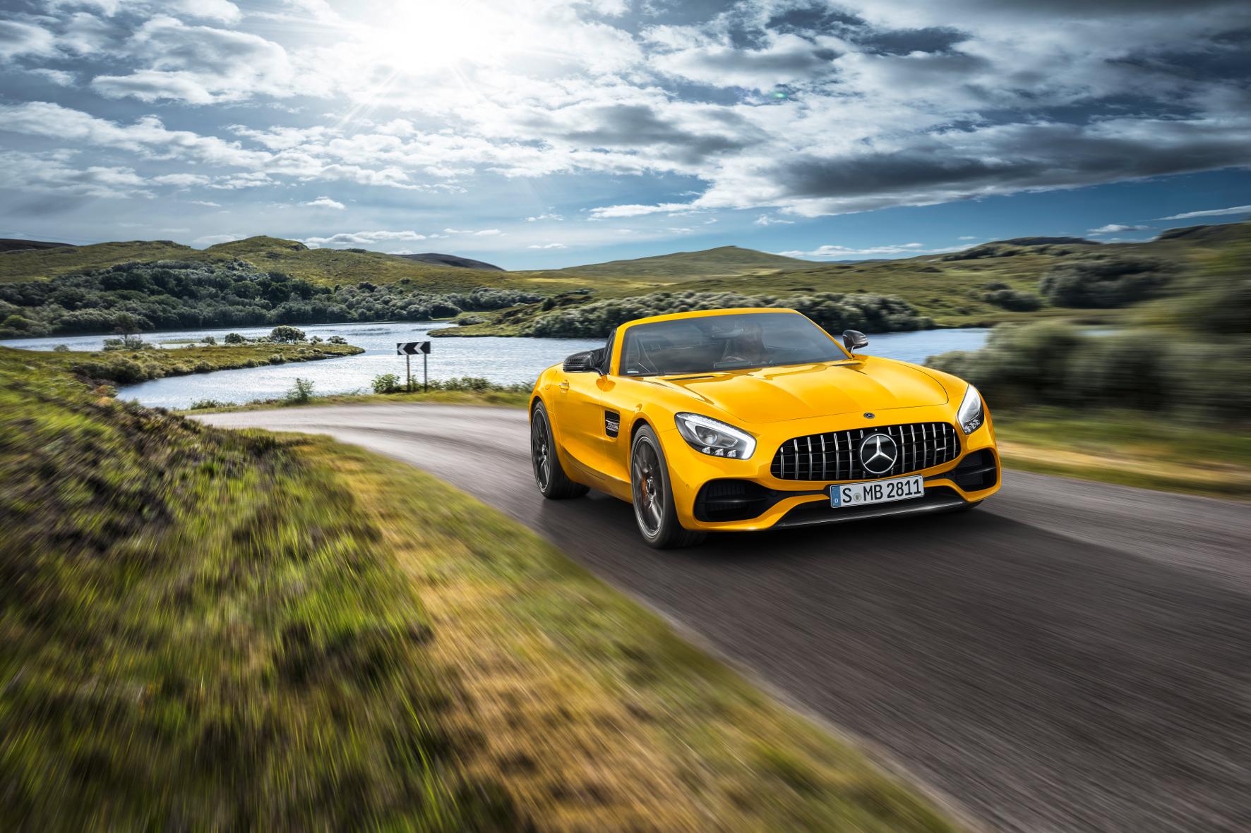 Mercedes-Roadster: Die MB-AMG-GT Familie hat Nachwuchs bekommen