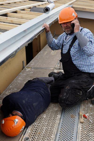 Bauwirtschaft Unfall