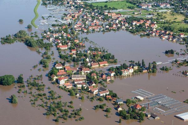 Starkregen und Land unter im TRD Pressedienst