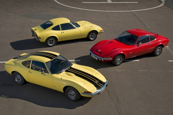 Dream car: The Opel GT has been turning car fans' heads since 1968.
