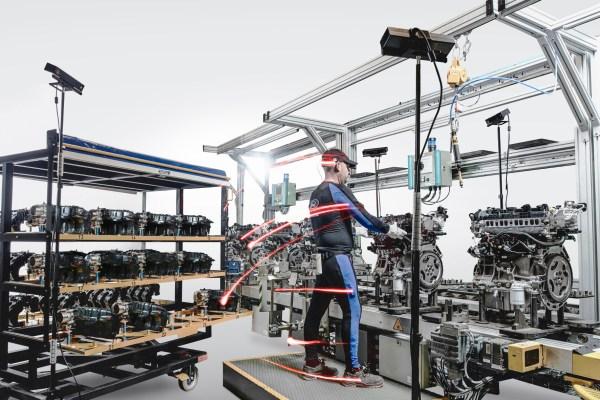 Produktion Arbeitsabläufe verbessernFord