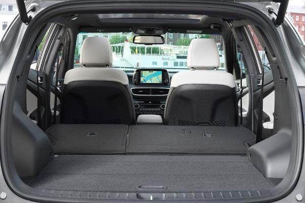 Hyundai Leasing Kofferraum