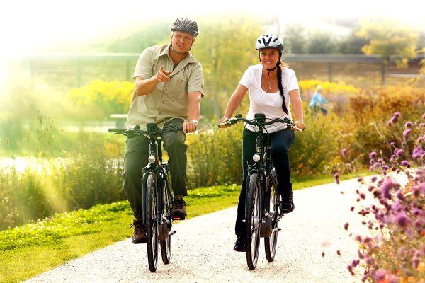 Helmpflicht beim Radfahren.