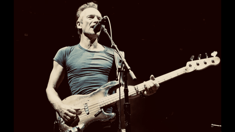 "STING: ""The ""Englishman in New York"" in Mönchengladbach"