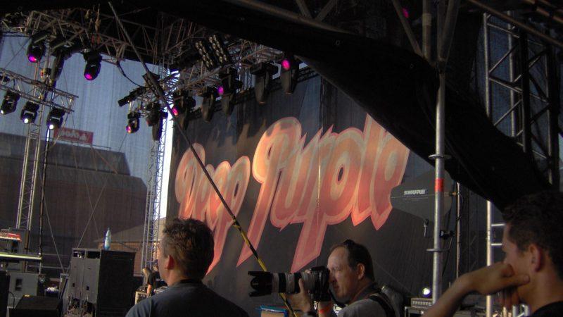 Deep Purple on Stage bei Polo Mototrrad in Düsseldorf