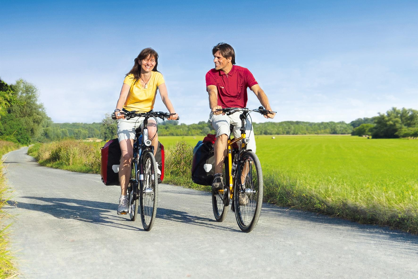 Urlaub mit dem Fahrrad immer beliebter