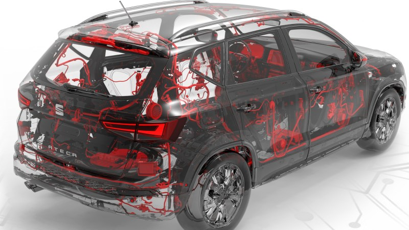 Auto mit (fast) menschlichem Nervensystem