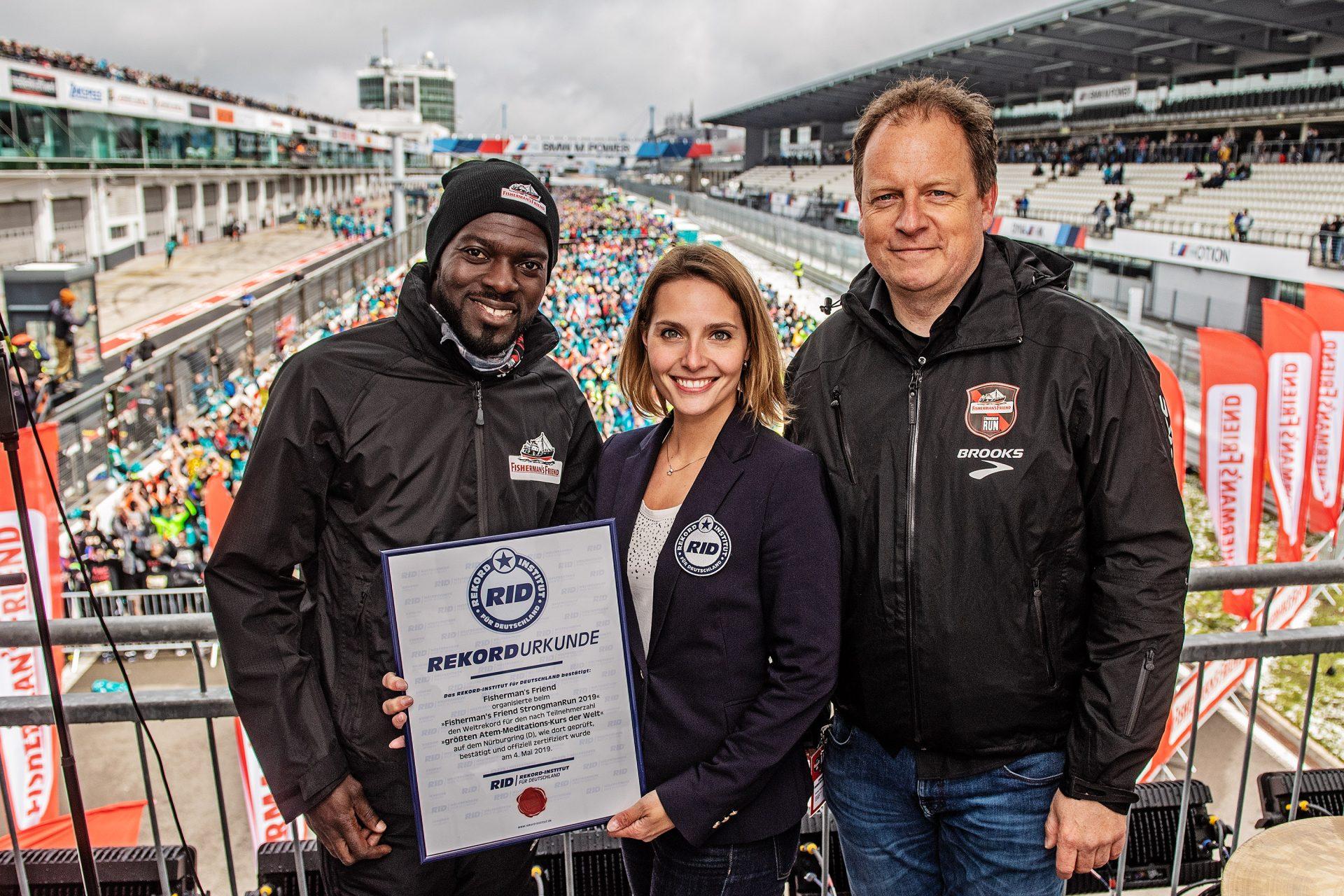 Neuer Weltrekord beim diesjährigen Fisherman´s Friend StrongmanRun aufgestellt