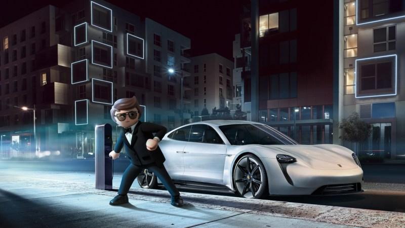 Geheimagenten aus dem Baukasten fahren bereits den E-Porsche