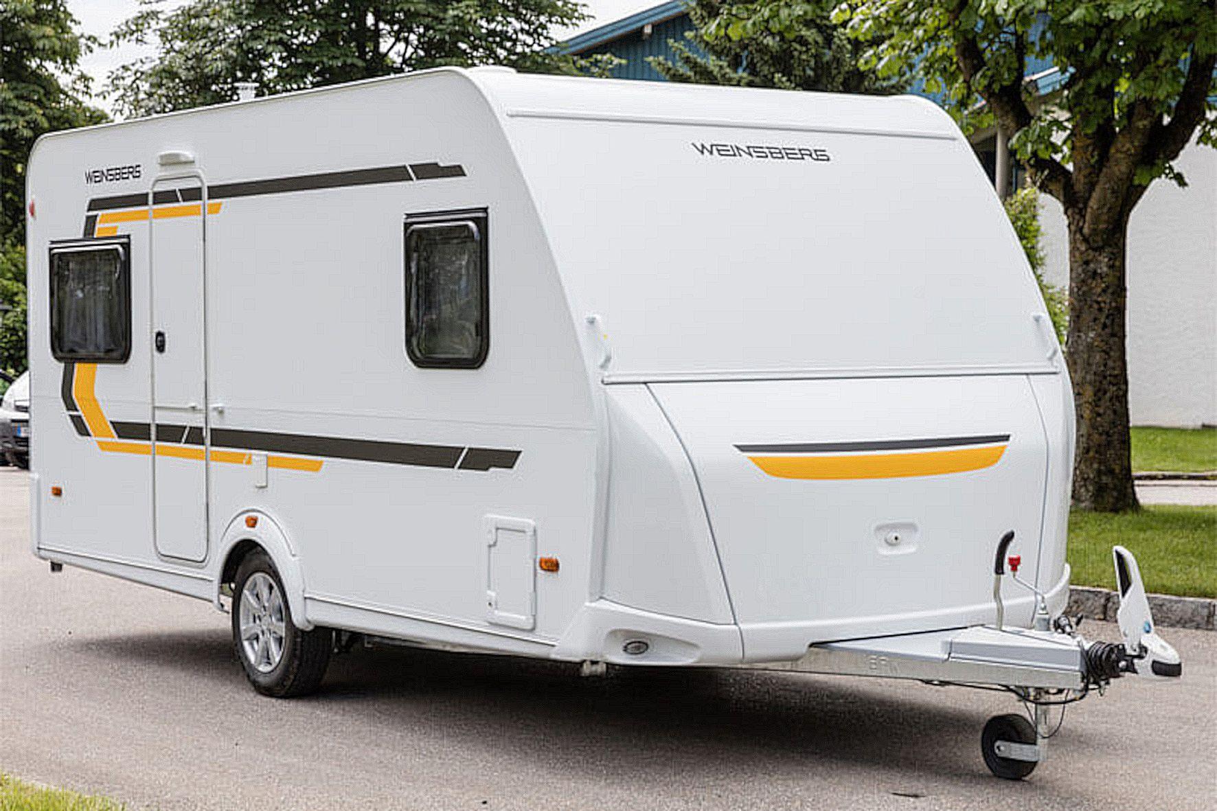 Campingwagen sind als Dauerparker auf öffentlichen Straßen nicht gerne gesehen