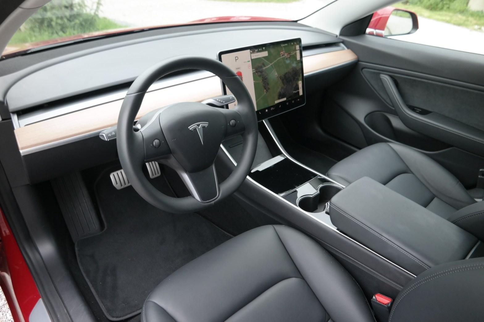 Innenraum eines Autos